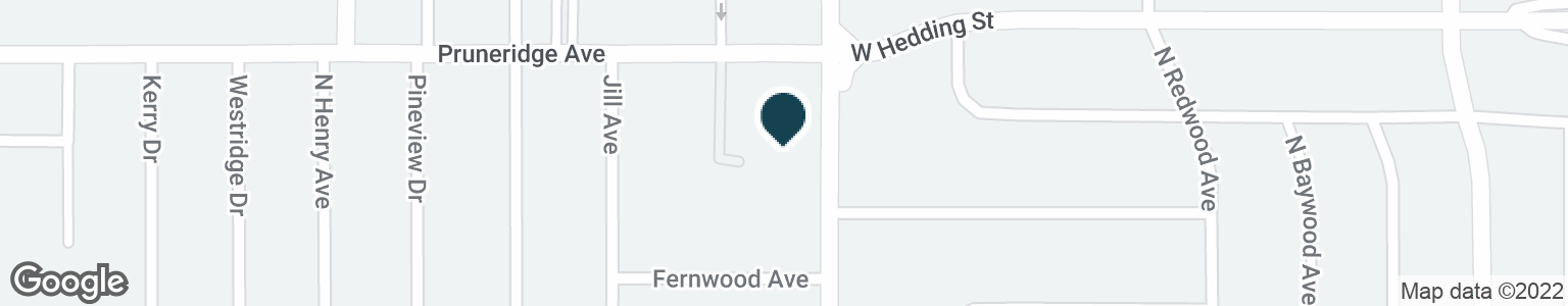 Google Map of200 N WINCHESTER BLVD