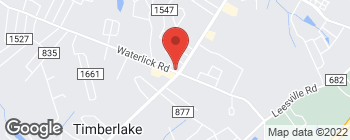 Map of 3311B Waterlick Rd in Lynchburg