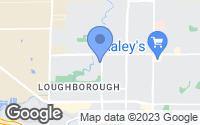 Map of Merced, CA
