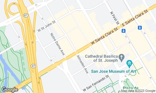 Map of Britannia Arms at 173 W Santa Clara St San Jose, CA