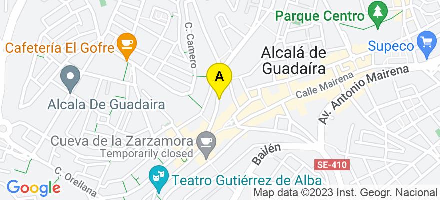 situacion en el mapa de . Direccion: C/ La Plata, 22 - 2º B, 41500 Alcalá de Guadaíra. Sevilla