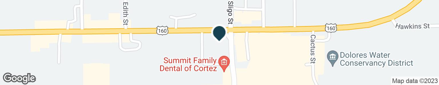 Google Map of1671 E MAIN ST