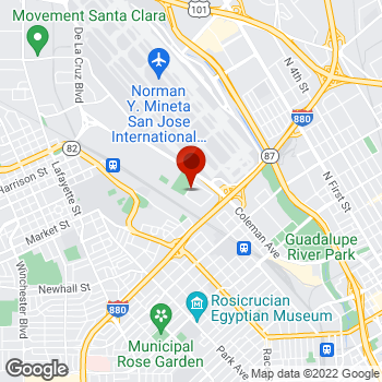 Map of Staples® Print & Marketing Services at 760 Newhall Drive, San Jose, CA 95110