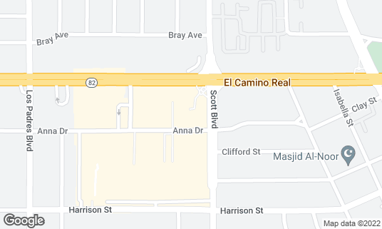 Map of Mission City Grill at 2000 El Camino Real Santa Clara, CA