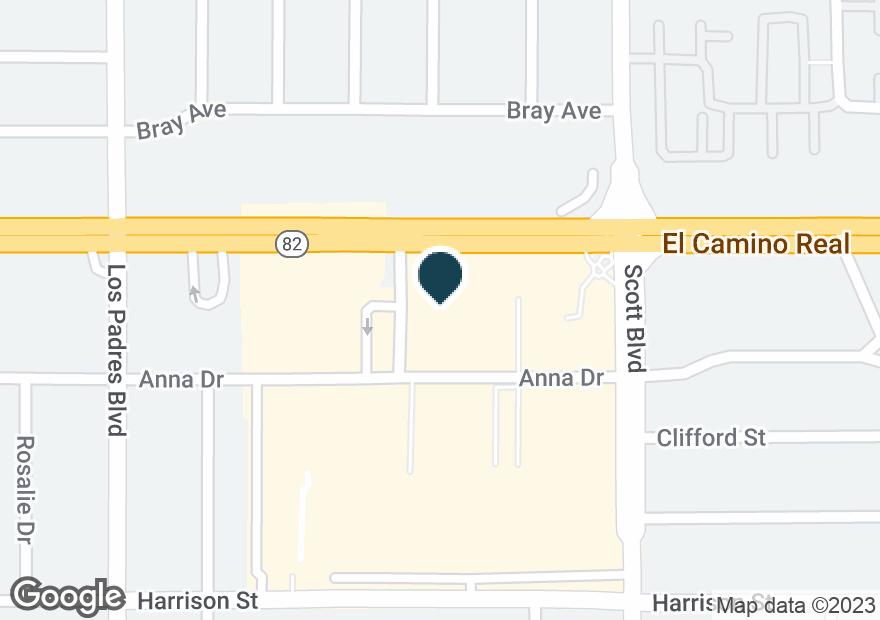 Google Map of2140 EL CAMINO REAL