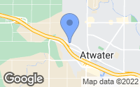Map of Atwater, CA