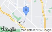 Map of Los Altos, CA