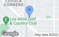 Map of Los Altos, CA