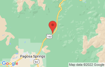 Map of Pagosa Springs