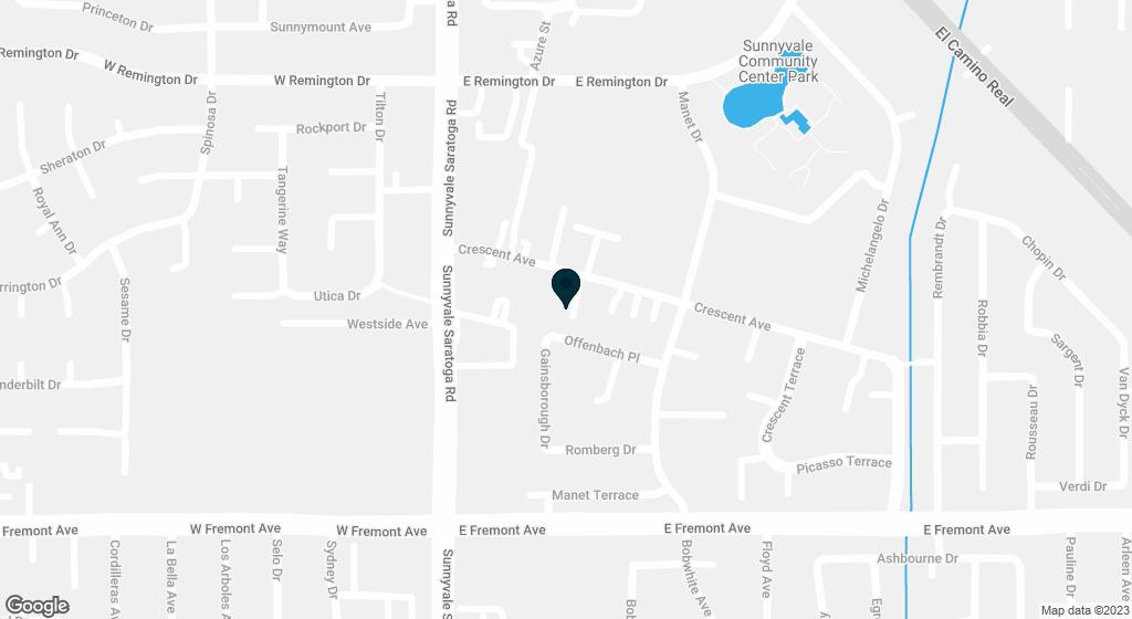 420 Crescent #12 Sunnyvale CA 94087