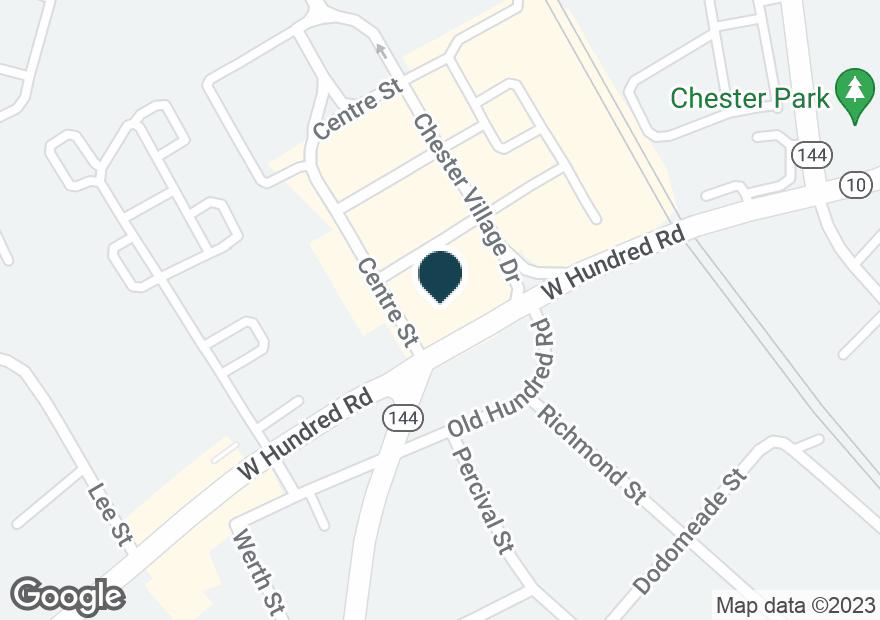 Google Map of4238 W HUNDRED RD
