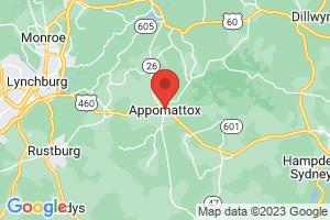 Map of Appomattox
