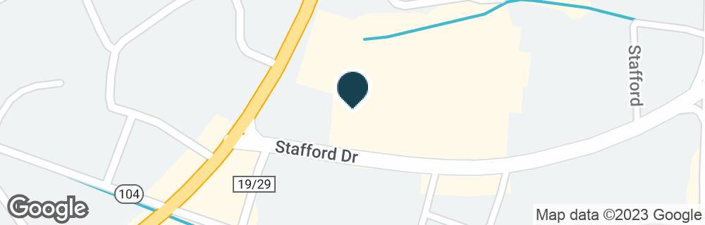 Google Map of323 S WALKER ST