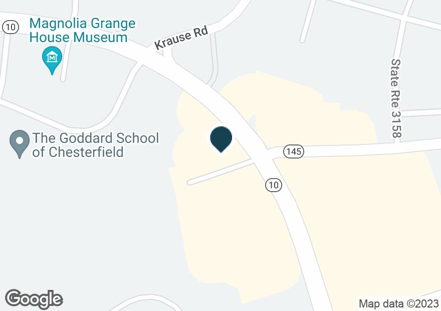 Google Map of10230 IRON BRIDGE RD