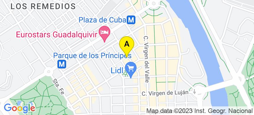 situacion en el mapa de . Direccion: Calle Arcos, 41011 Sevilla. Sevilla