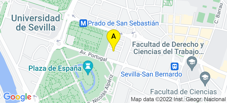 situacion en el mapa de . Direccion: Calle Infante Carlos de Borbón 16, 4º-B, 41004 Sevilla. Sevilla