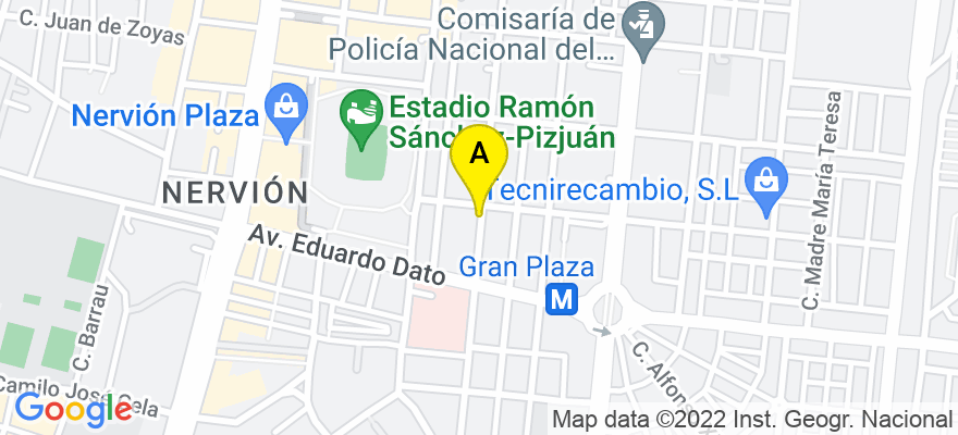 situacion en el mapa de . Direccion: Calle Marqués del Nervión 43A, 3º-C, 41005 Sevilla. Sevilla