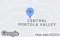 Map of Portola Valley, CA
