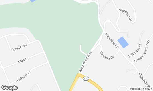 Map of San Jose Country Club at 15571 Alum Rock Ave San Jose, CA