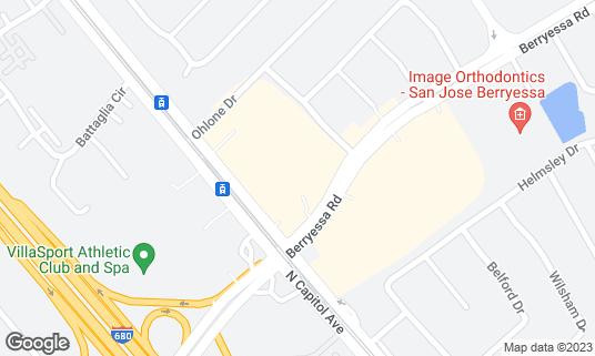 Map of Tastea at 1160 N Capitol Ave San Jose, CA