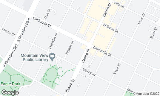 Map of Cascal at 400 Castro St Mountain View, CA