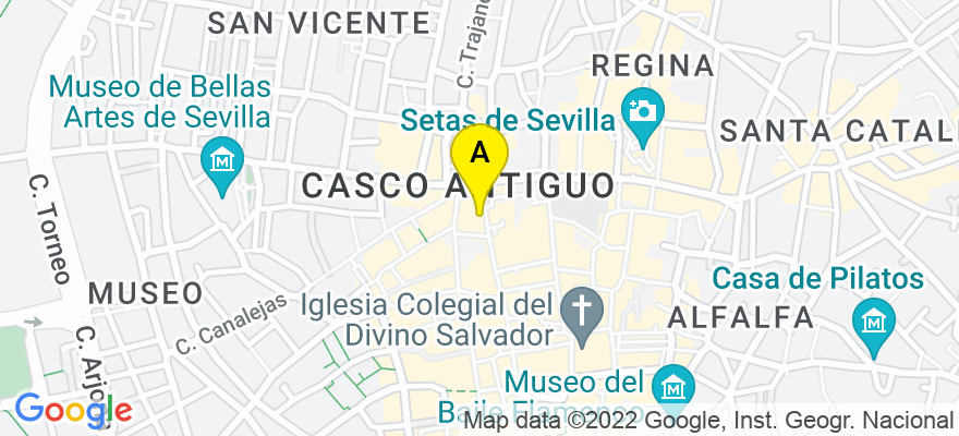 situacion en el mapa de . Direccion: C/ SIERPES, 11, PORTAL 1, 1º, 41004 Sevilla. Sevilla