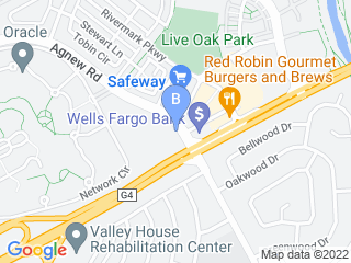 Map of Good Grief Pet Care Dog Boarding options in Santa Clara | Boarding