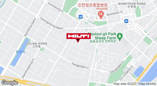 Get directions to 인천남동고잔256