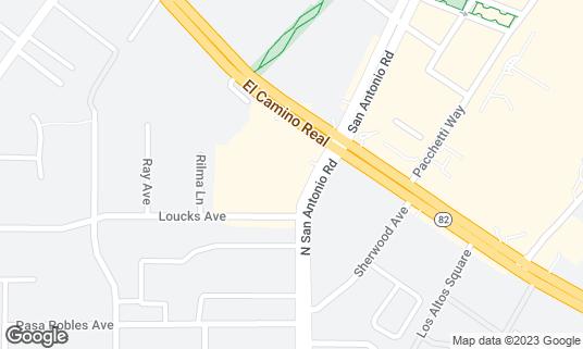 Map of Noodle Talk Home Cuisine at 4546 El Camino Real Ste A6 Los Altos, CA