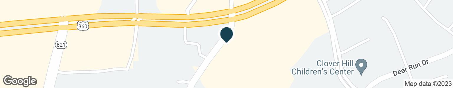 Google Map of6851 TEMIE LEE PKWY