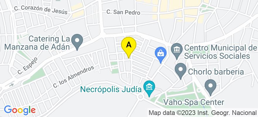 situacion en el mapa de . Direccion: Las Torres nº 2, Esc C, 3º 1, 14900 Lucena. Córdoba