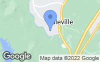 Map of Daleville, VA