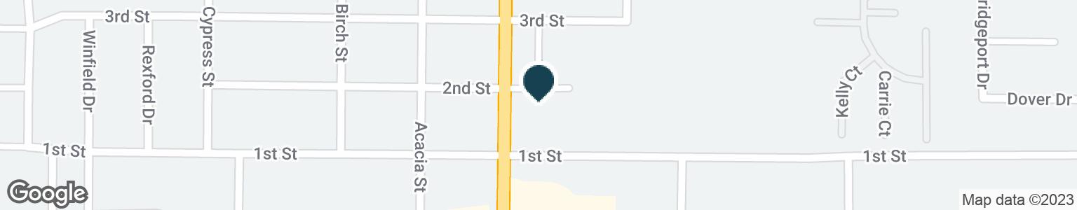 Google Map of8298 LANDER AVE