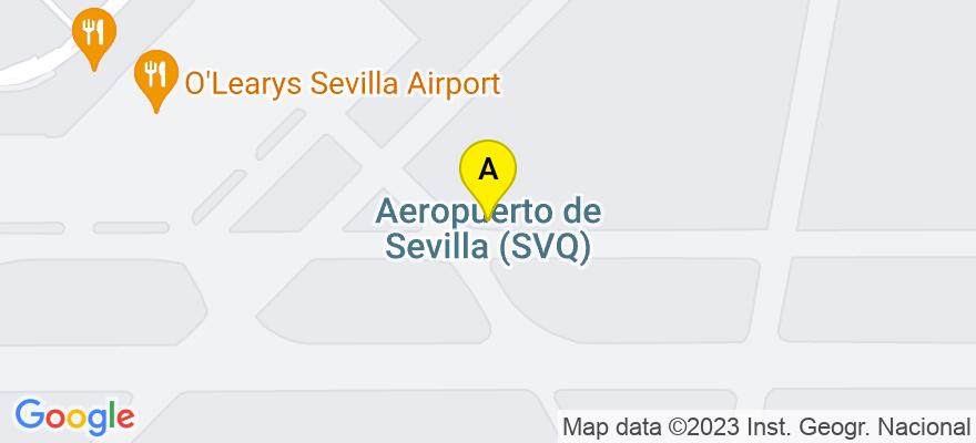situacion en el mapa de . Direccion: Santa Ángela de la Cruz nº 3, Principal Derecha, 41003 Sevilla. Sevilla