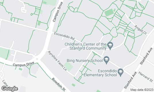 Map of Ray's Grill at 750 Escondido Rd Palo Alto, CA