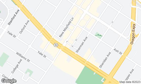 Map of La Bodeguita del Medio at 463 California Ave Palo Alto, CA