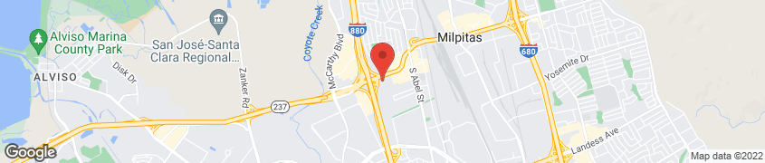 Map of 333 S. Abbott in Milpitas
