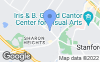 Map of Menlo Park, CA
