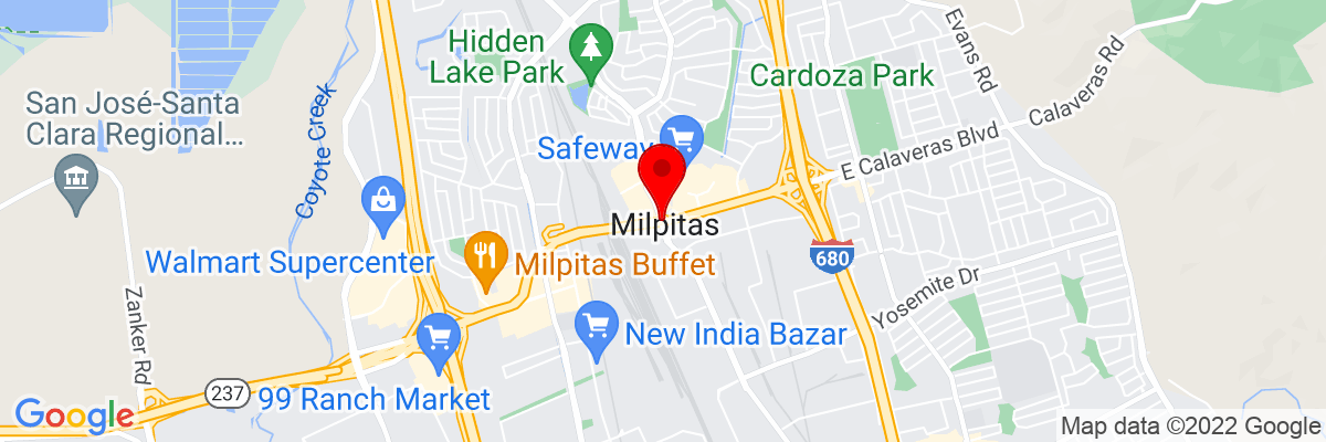 Google Map of 37.432334166667,-121.89957416667