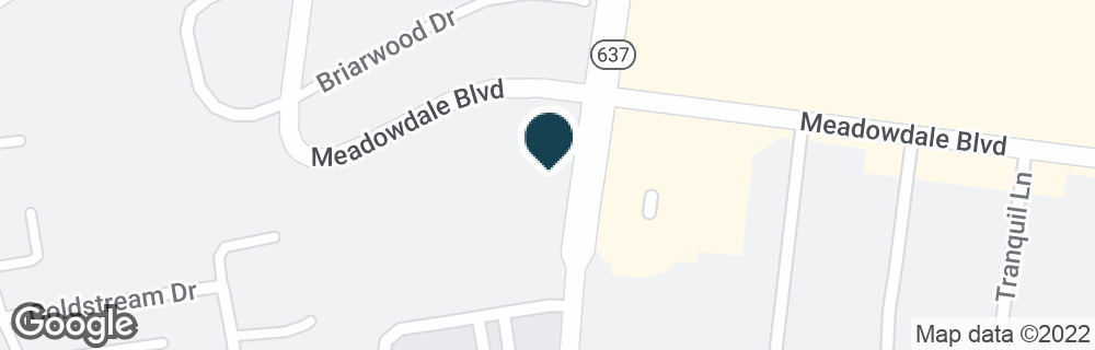 Google Map of4201 MEADOWDALE BLVD