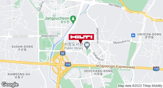 Get directions to 인천남동서창551
