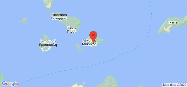 Map of Mykonos