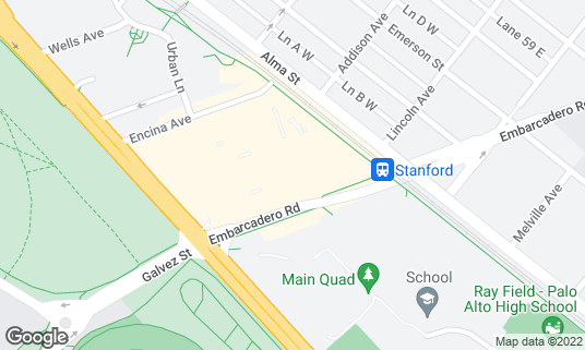 Map of Calafia Cafe & Market A Go-Go at 855 El Camino Real Ste 130 Palo Alto, CA