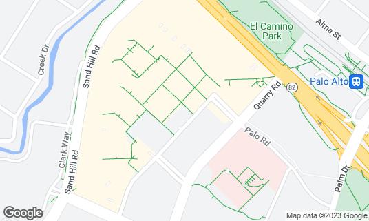 Map of Go Fish Poke Bar at 660 Stanford Shopping Ctr Palo Alto, CA