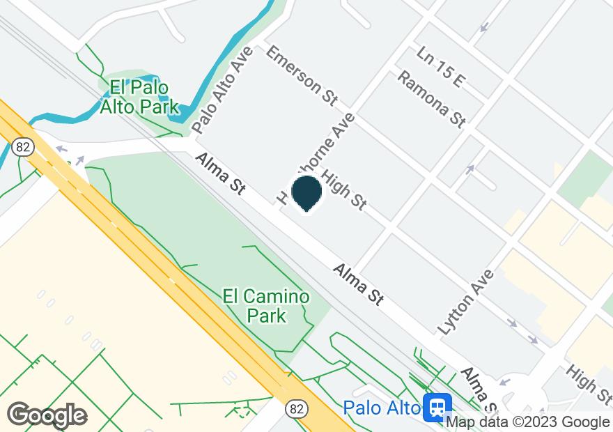 Google Map of217 ALMA ST