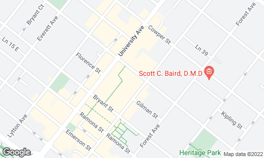 Map of Tai Pan at 560 Waverley St Palo Alto, CA