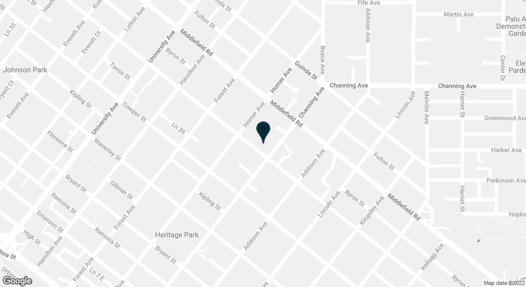 847 Webster Palo Alto CA 94301