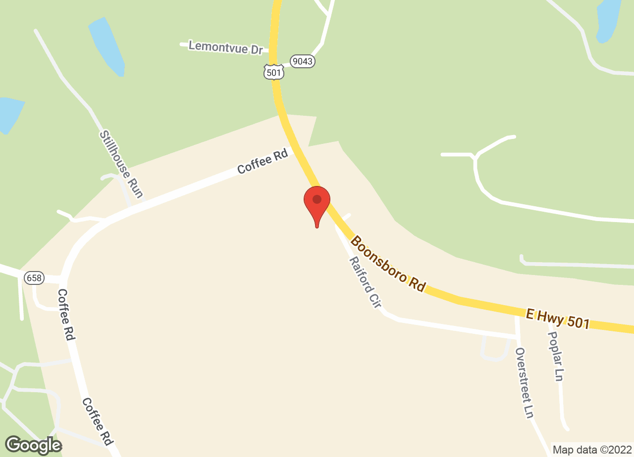 Google Map of VCA Boonsboro Animal Hospital