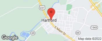 Map of 305 Apple Aly in Hartford