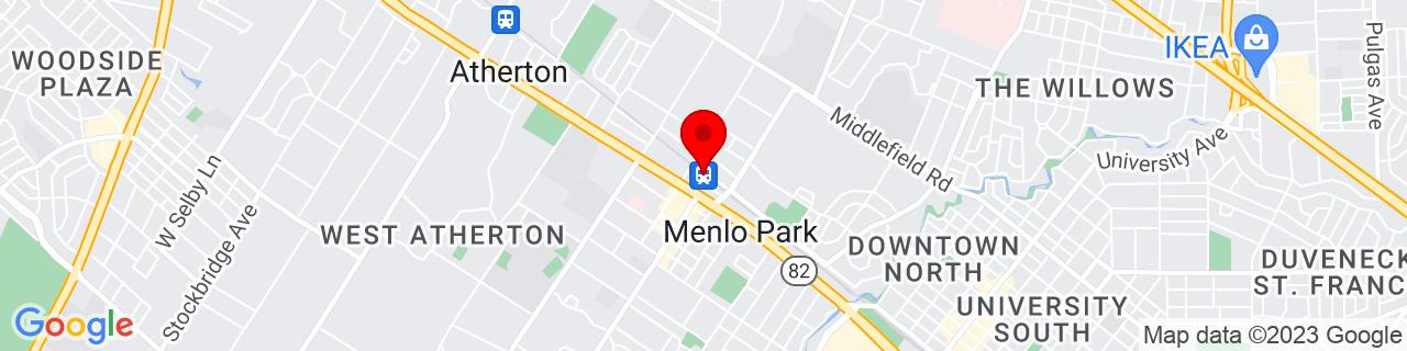 Google Map of 37.454801, -122.1825892